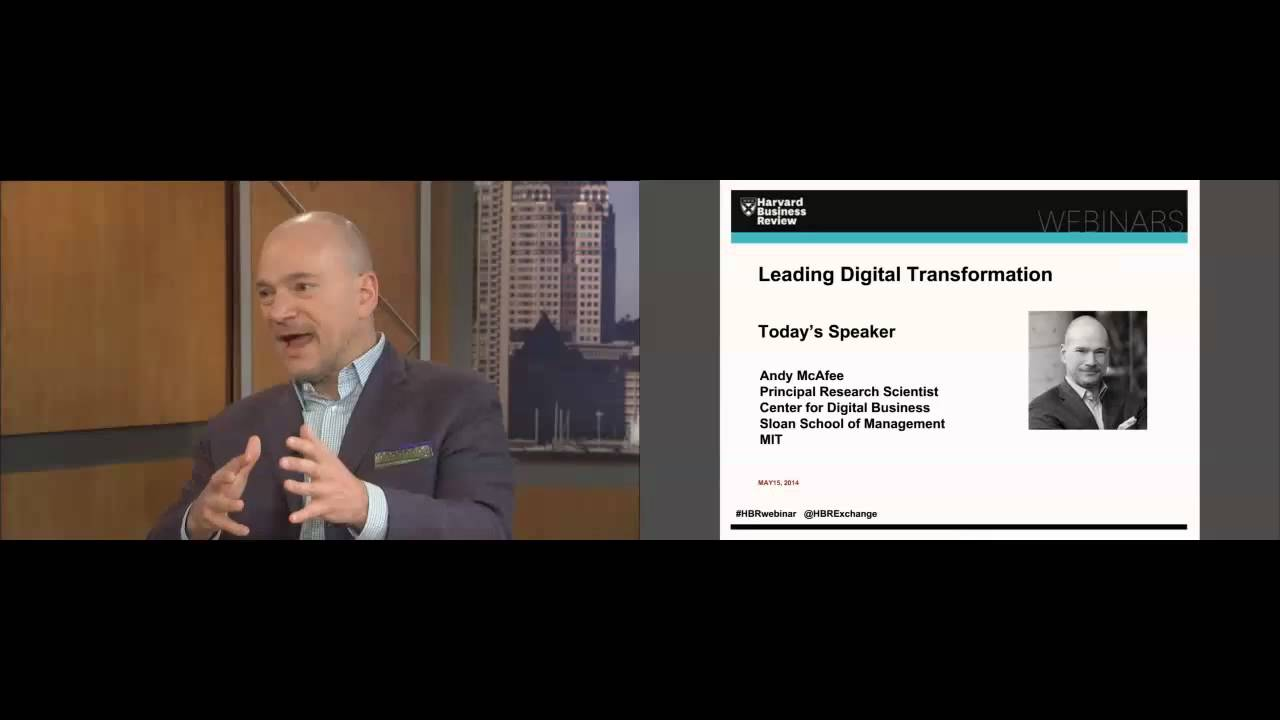 Leading Digital Transformation with Andrew McAfee