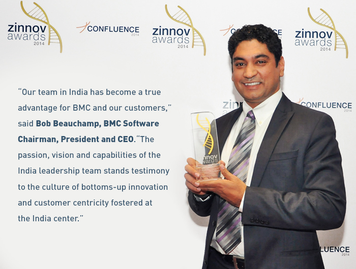 BMC India Wins Zinnov Award