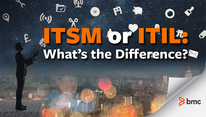 difference between ITIL and ITSM