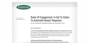 Forrester Report: Automate Breach Response
