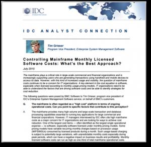 IDC Analyst MLC