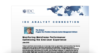 IDC-Optimizing-end-user-experience