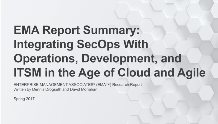 When Timing Is Everything — Integrating SecOps with Operations, Development and ITSM