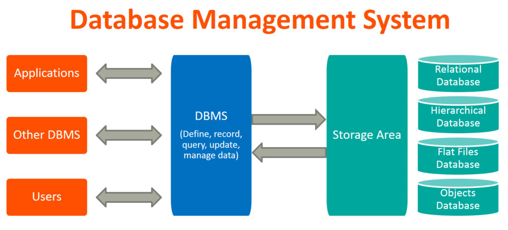 dbms database management systems 1024x463 - Overview of a Database Management System