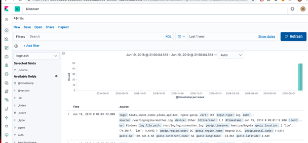 How to send logs to ElasticSearch using Beats and Logstash